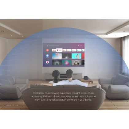 Epson EpiqVision EF-12 Mini 3LCD Full HD Laser Projection TV Home Theater Projector (Built-In Chromecast )