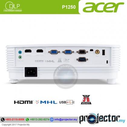 Acer P1250 XGA 3600 Lumens Essential DLP Projector