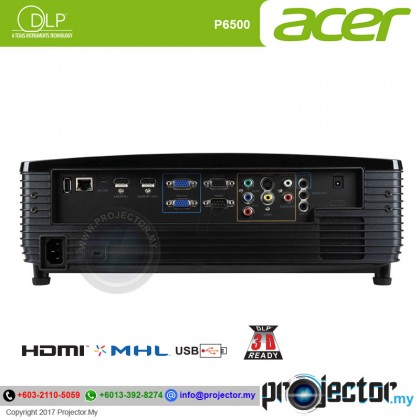 Acer P6500 Full HD 5000 Lumens Large Venue Projector