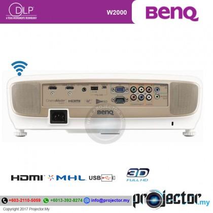 Benq W2000 Full HD 3D Home Theater Projector