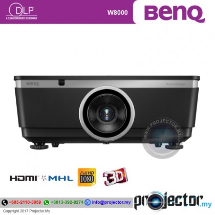 BenQ W8000 Full HD 3D Home Theater Projector
