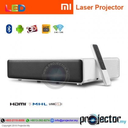 "Xiaomi Mi 150"" Full HD Ultra Short Throw 5000 Lumens Android Laser Projector (Global Version)"